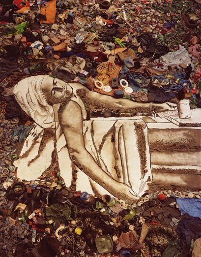 WASTE LAND : Gallery Vik Muniz