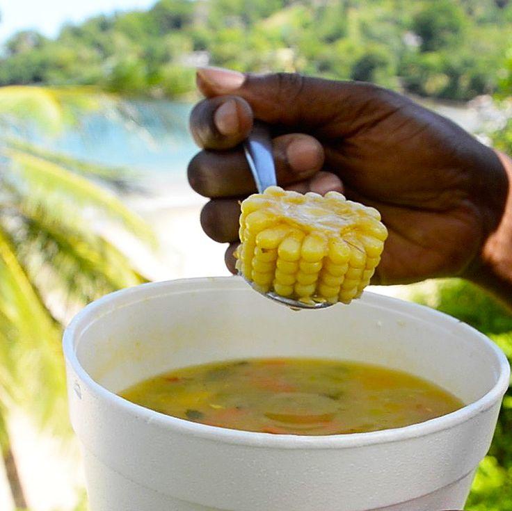 YIELD - 50 Servings*FC - Finely ChoppedINGREDIENTSWater - 1 liter Split Peas - 800 grams Water - 10 liters Soup Seasoning - 270 grams Whole Corn - 12 (cut into