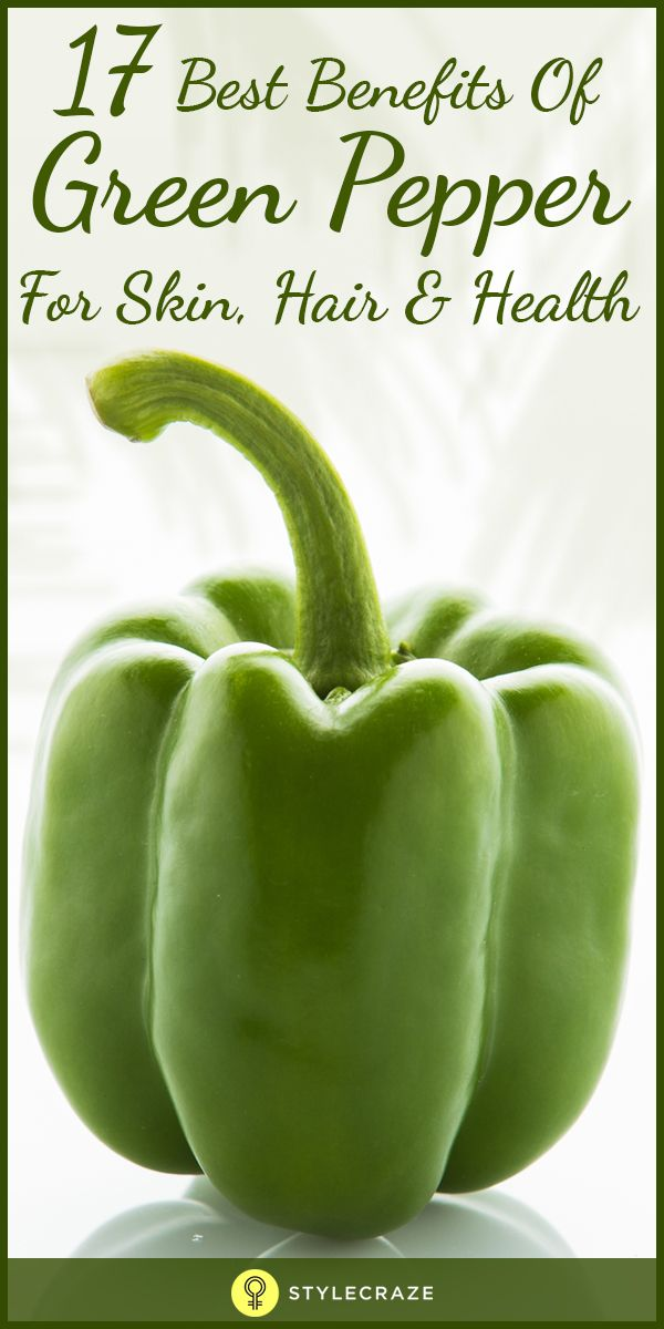 Green peppers are basically green-coloured bell peppers or sweet peppers or capsicum (Capsicum Annum). This medium-sized fruit pods have a wonderful bell shape, thick and brittle skin with glossy outer cover and a fleshy texture. Due to its moderately pungent flavour, it is categorized as vegetable rather than spice. However, green peppers not only make our foods savour, but they also come with a large number of benefits. Let us explore all those usefulness: