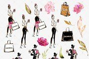 Spring Fashion Clipart - Illustrations - 5