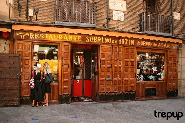 'Botín is the magnificent restaurant where new things are roasted in old pots,' – Ramón Gómez de la Serna http://trepup.co/2kPSJRU