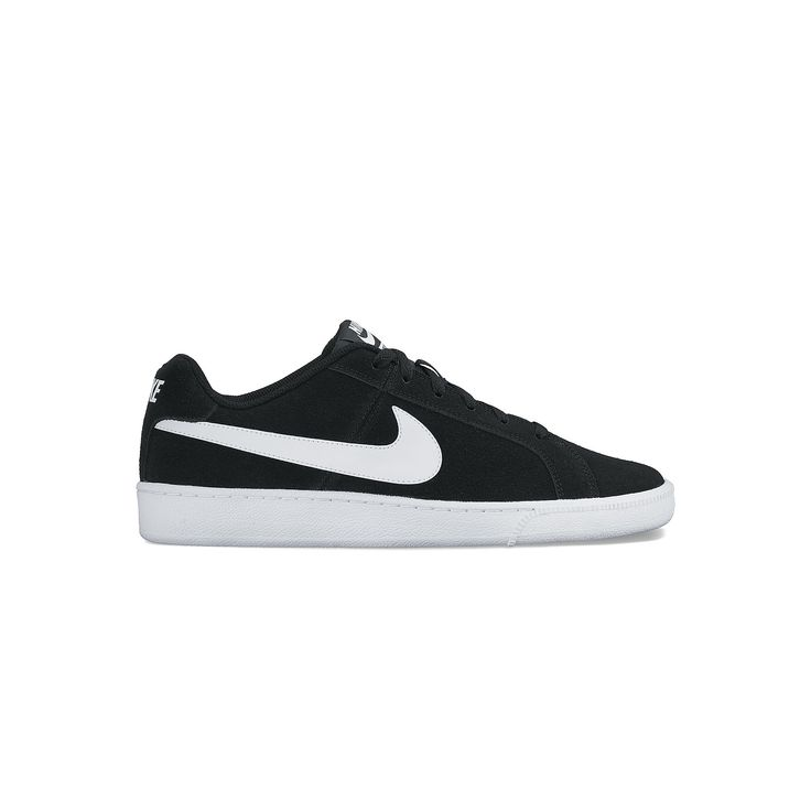 Nike Court Royale Men's Suede Shoes, Size: 10.5, Grey (Charcoal)