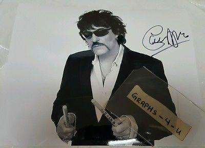 Carmine Appice Signed Vanilla Fudge Autograph Cactus COA proof