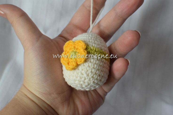 Crochet easter egg by RucneRobene on Etsy