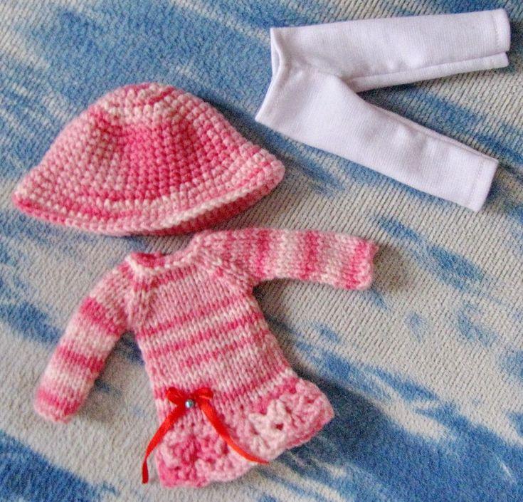 3 PCS outfit for 1/6 bjd fairyland LittleFee Bisou #BJDYOSD