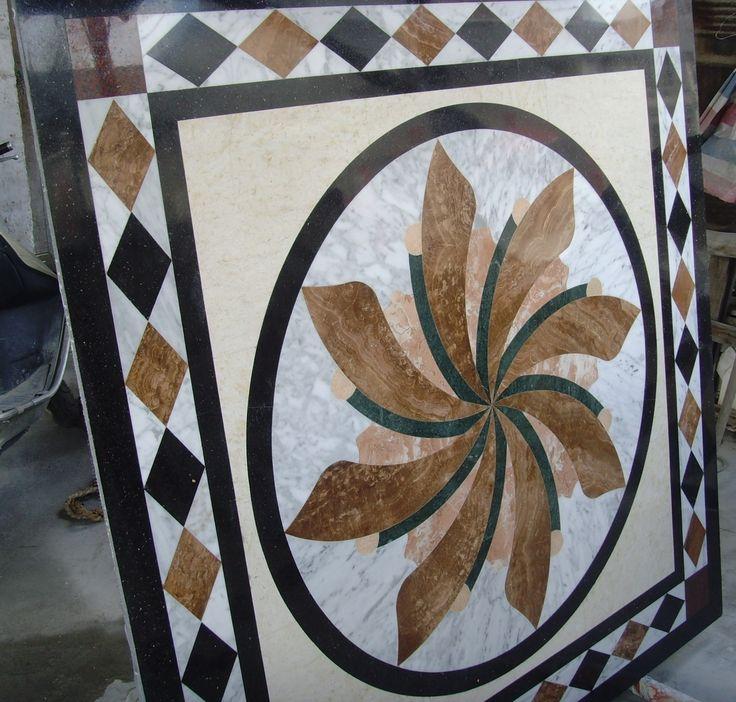 ExoTiles - SNV384 Marble Medallion Floor Tiles, $2,300.00 (http://www.exotiles.com.au/snv384-marble-medallion-floor-tiles/)