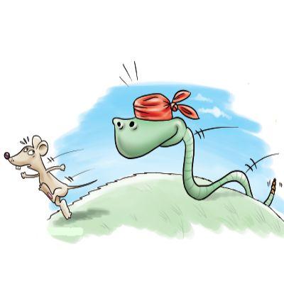 Τα κατοικίδια φίδια τρώνε τρωκτικά, τα μικρά φίδια τρώνε ποντίκια τα μεγαλύτερα…