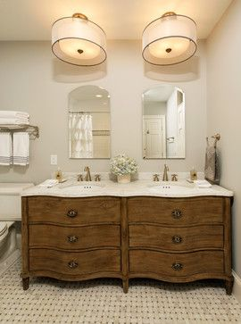 pictures of dressers converted into bathroom vanities | Dresser Turned Into Vanity Design Ideas, Pictures, Remodel, and Decor