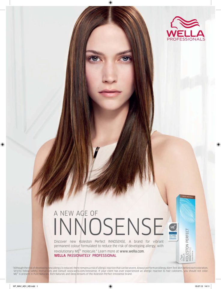 Do you have allergies? Are you scared to colour your hair because of your allergies? Come in and try our new product Koleston Perfect Innosense by Wella Professionals.  It is the only colour range in the world certified and approved by European Foundation for Allergy Research.