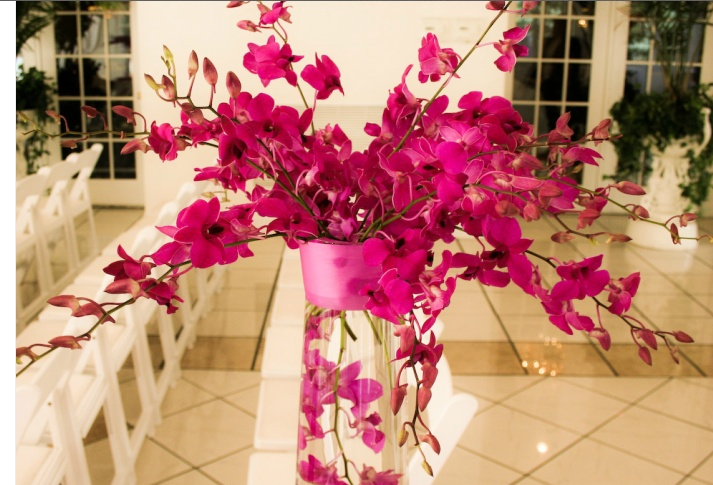 Ideas about hot pink centerpieces on pinterest