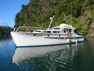 sit back in style on the elegant Lady Karen as Captain Gordon tours you through the inner Queen Charlotte Sound