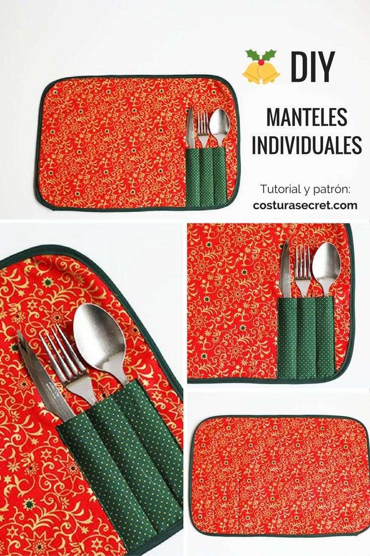 DIY TABLECLOTHS | Cómo hacer MANTELES INDIVIDUALES