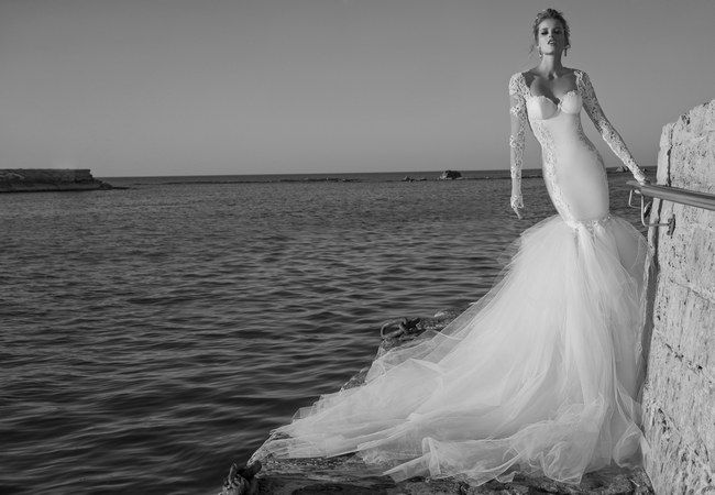 Galia Lahav Wedding Dress - Tullia Gown with Detachable Tulle Skirt || Worldwide Collection Premiere: Galia Lahav's Much Anticipated La Dolce Vita {Part 2}