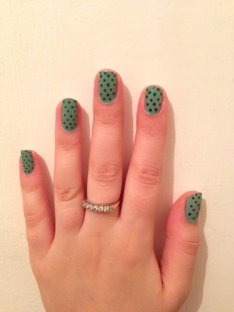107 best rio nail art images on pinterest nail art pen penne opi thanks a windmillion with rio nail art pen polka dots in forest green prinsesfo Gallery