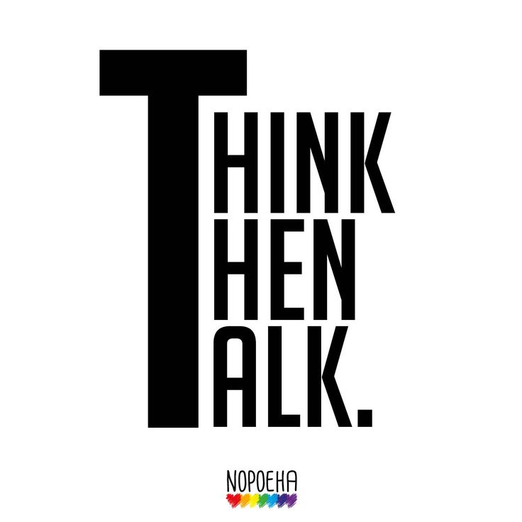 Think Then Talk