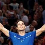 Rafael Nadal reaches Paris Masters quarters Juan Martin del Potro closes in on ATP Finals spot