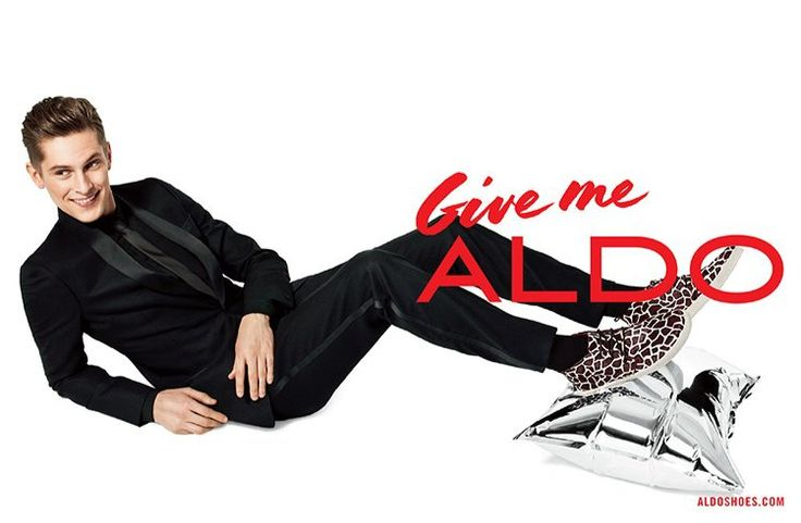 How to Pose Like a Top Male Model image aldo holiday 2013 campaign mathias lauridsen 0002