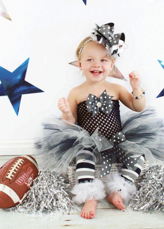 Dallas Cowboys Sports Fan Tutu Outfit  cutest fan