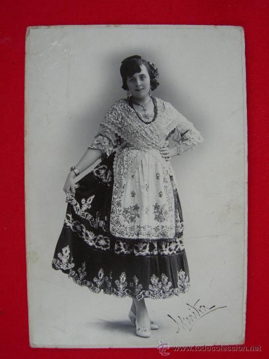 HUERTANA DE MURCIA MATEO 1929 - Por lo que se observa es un refajo de lujo bastante antiguo.