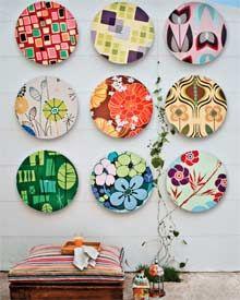 Decoração e reciclagem: Arte com CD's velhos