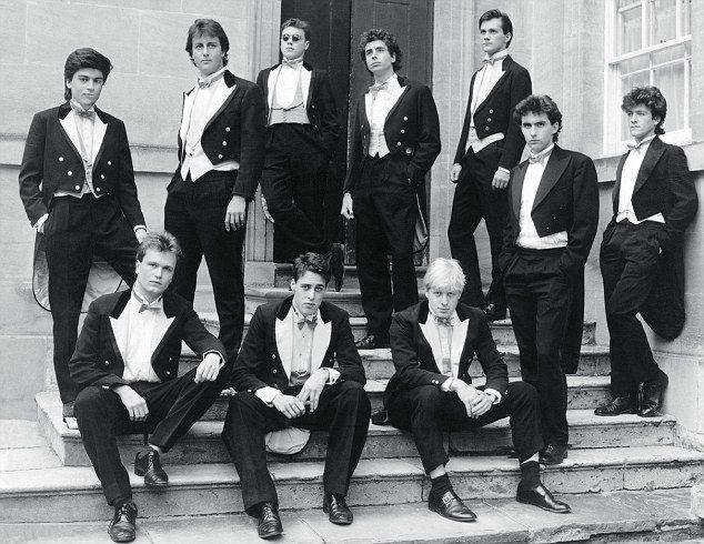 THE BULLINGDON CLUB: 1987