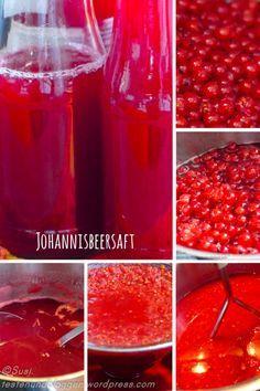 Johannisbeer Saft Rezept - black currant Juice