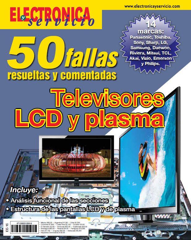 50 Fallas Resueltas Y Comentadas En Tv Lcd Y Plasma Televisor Televisores Lcd Libro Electrónico