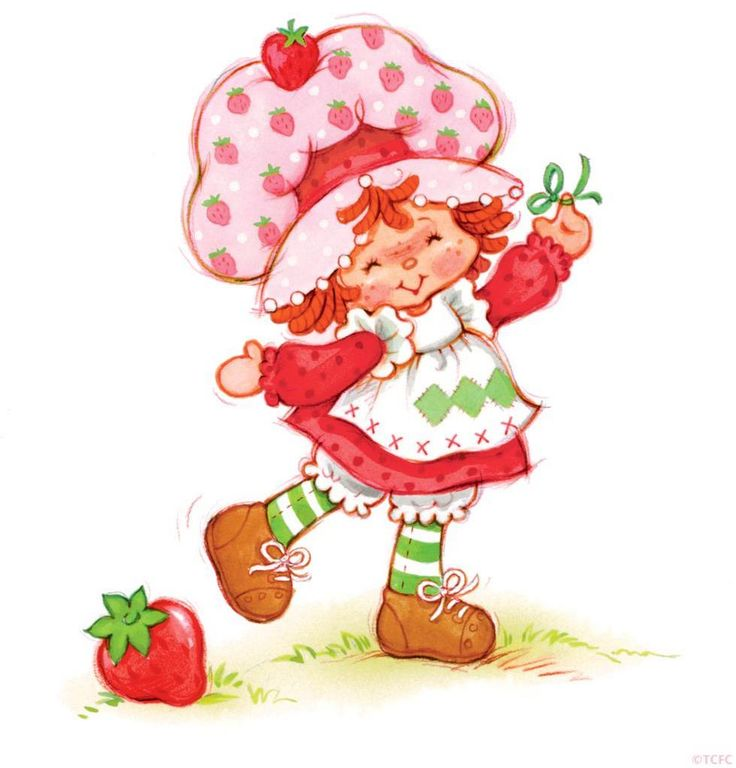 Strawberry Shortcake....oh the memories and that smell.  Strawberries!