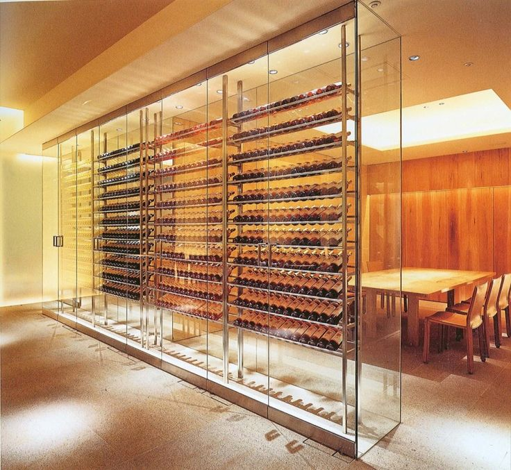 Commercial wine displays commercial wine cellars for Wine cellar pinterest