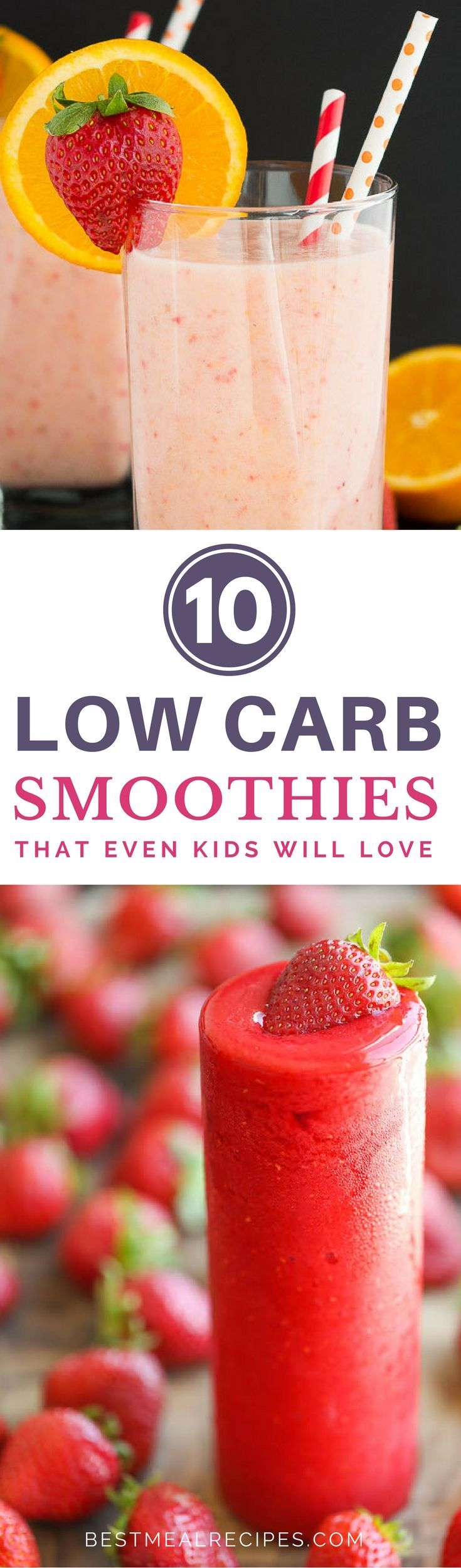 Tired of fruit smoothie shakes? Try these delectable vegetable, alcohol-inspired, and tropical low carb smoothies that will blow your mind. See it here: http://bestmealrecipes.com/2017/03/03/low-carb-smoothies-that-kids-will-love/