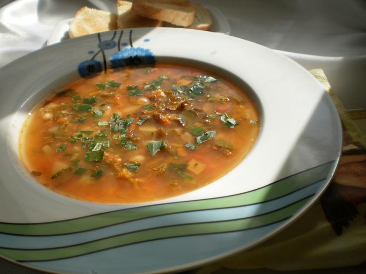 Bucataresele Vesele-retete culinare,retete ilustrate: Supe si ciorbe de post