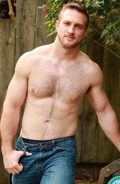 Gay hairy muscle men ass