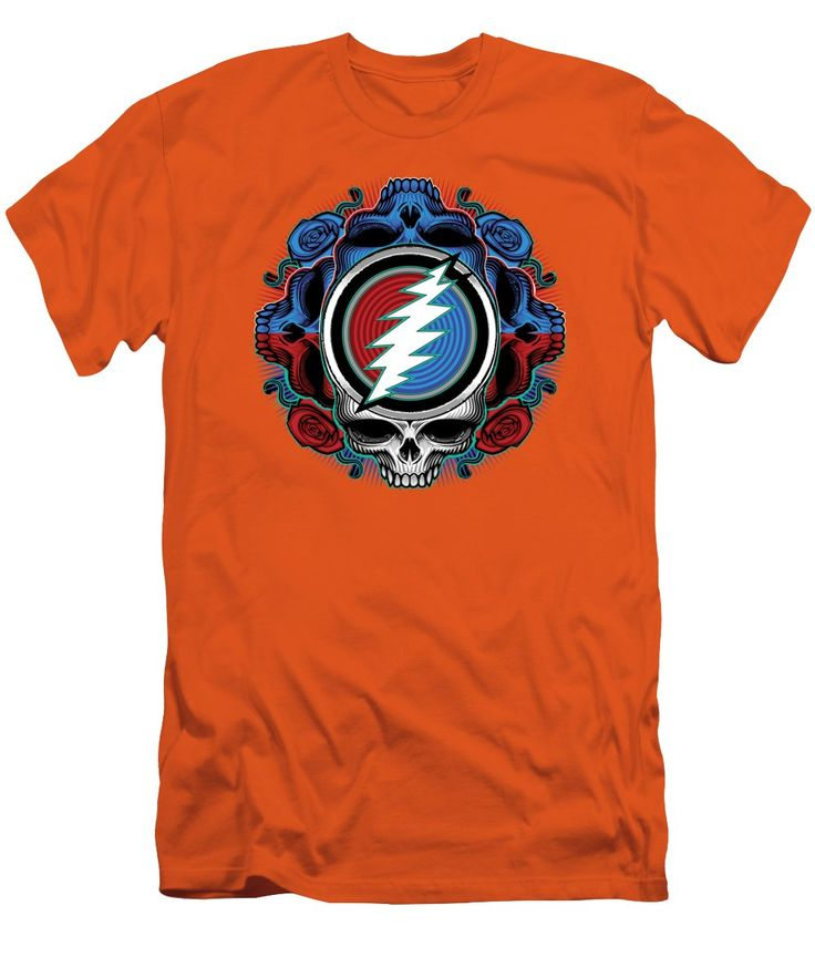Steal Your Face - Ilustration T-Shirt for Sale by The Bear. FaceGrateful  DeadAthleticDigital ...