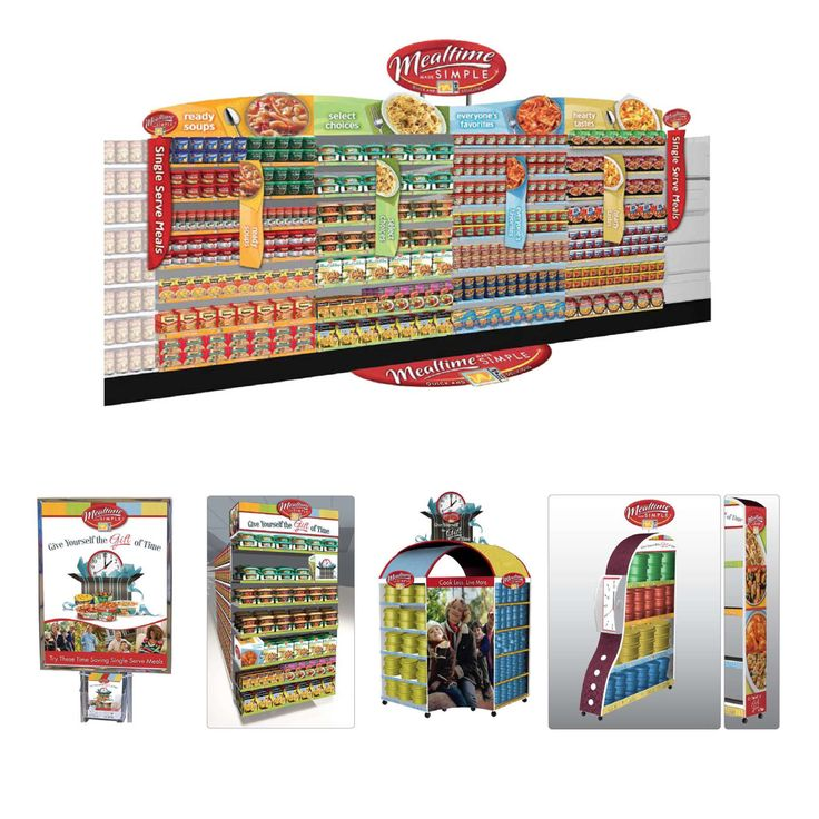 Conagra Instore Marketing Aisle Design. Launch Creative Marketing. Joe Giordano