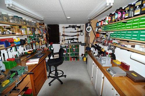 Ammo reloading room