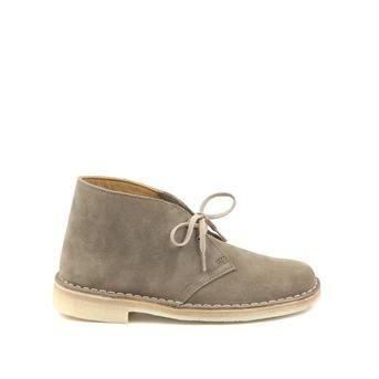 Clarks Originals groene suède Desert Boots