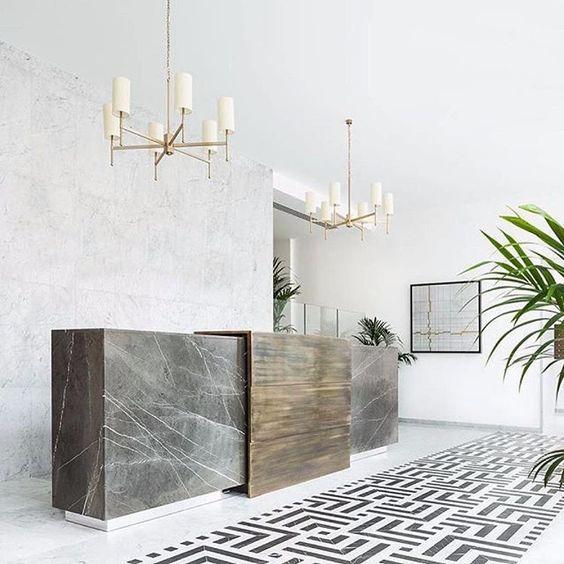 25 best ideas about reception counter design on pinterest - Interior design lighting companies ...
