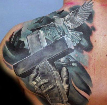 New Tattoo Christian For Guys Shoulder 36+ Ideas