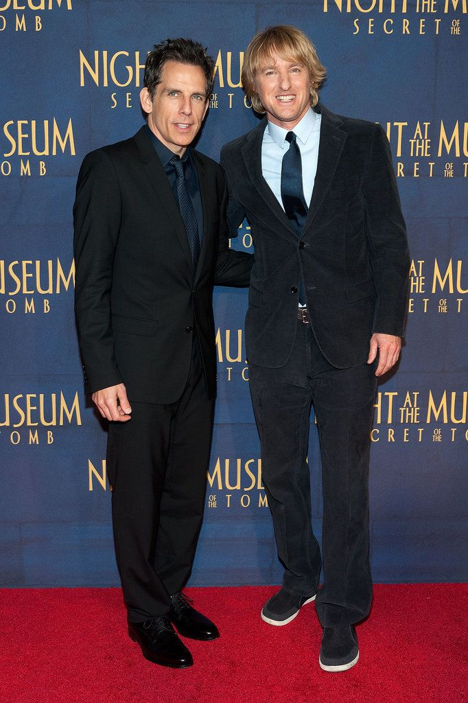 Ben Stiller and Owen Wilson linked up at the NYC premiere of Night at the Museum: Secret of the Tomb on Thursday.