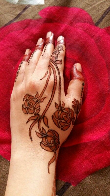 my hand looks very beautiful:-)