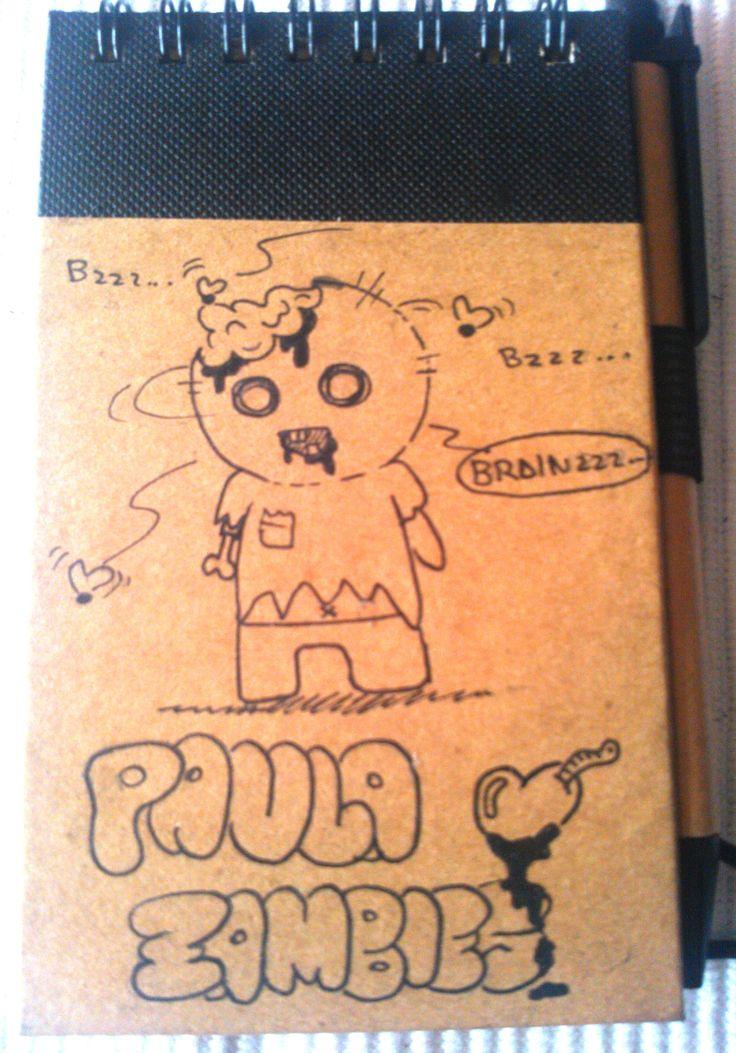 Paula (12) loquea por los juegos de zombies https://www.facebook.com/Ristyart