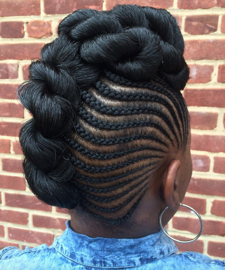 Pleasing 1000 Ideas About Black Braided Hairstyles On Pinterest Braided Hairstyles For Women Draintrainus