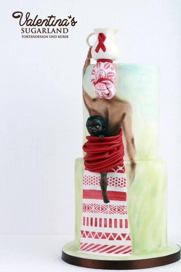UNSA Collaboration my cake - Cake by Valentina's Sugarland