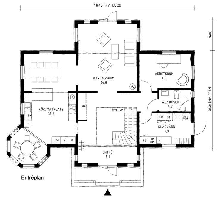Placering torn, ny planlösning kök
