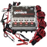 NOCO Genius G4 6V/12V 4.4 Amp 4-Bank Smart Battery Charger and Maintainer (Automotive)By NOCO