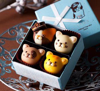 【ゴンチャロフ製菓】アニマルショコラ : 遊び心を感じる大人のバレンタインチョコ♪ - NAVER まとめ
