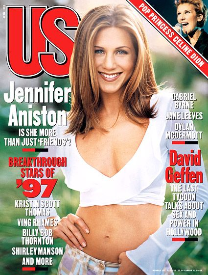 Jennifer Aniston, April 1997. Few months after I was born...