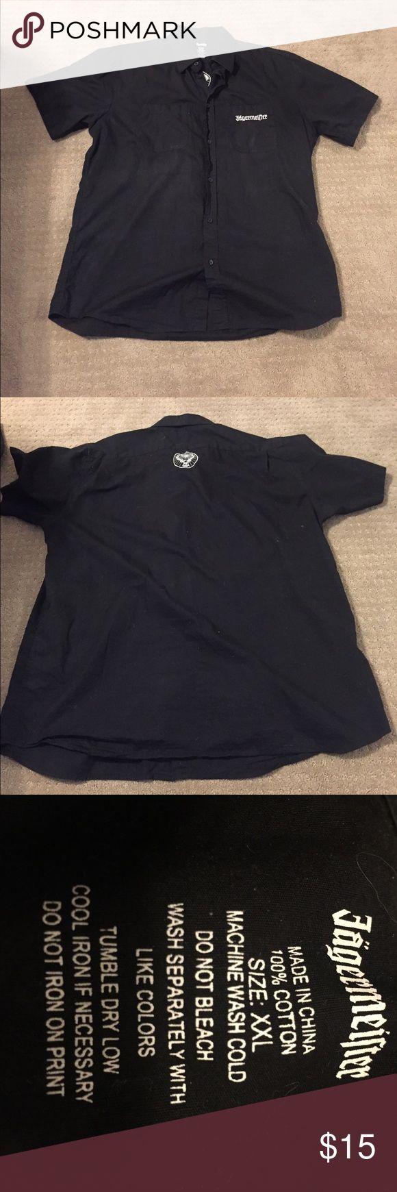 Jägermeister men's shirt Good used condition. Shirts Casual Button Down Shirts