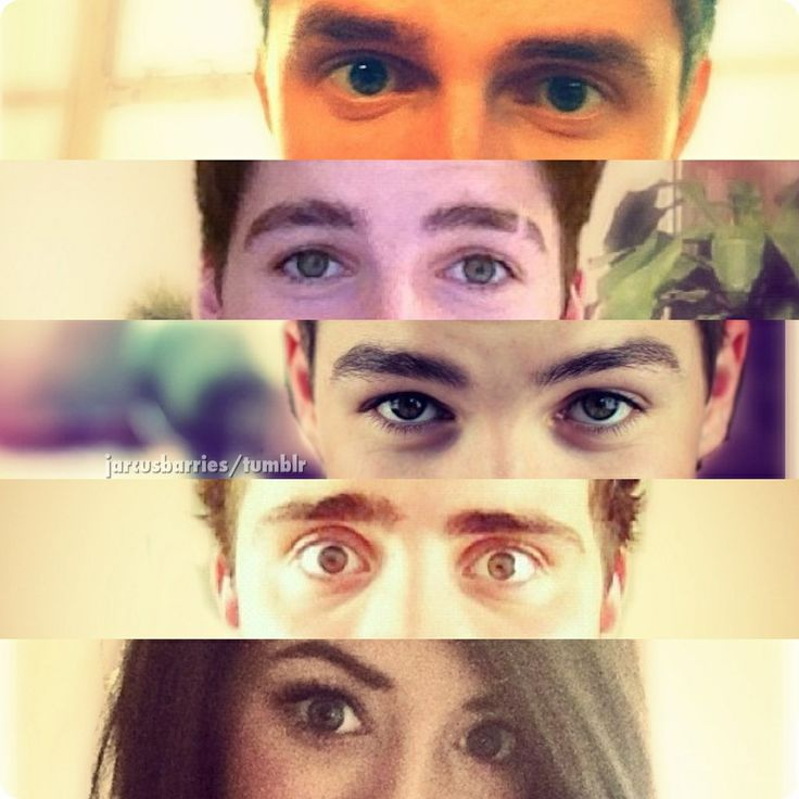 British youtubers xxxJack And Finn Harries Collage
