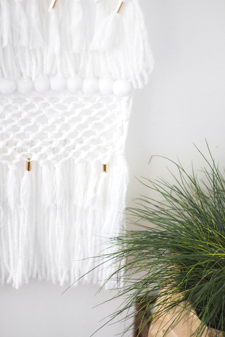 no-weave wall hanging